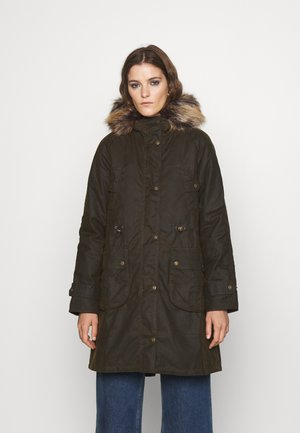 BARBOUR HARTWITH WAX - Winter coat - olive/classic