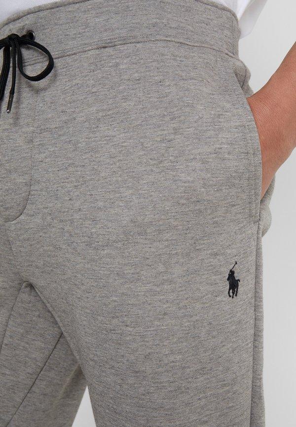 Polo Ralph Lauren Spodnie treningowe - battalion heather/szary melanż Odzież Męska XFYR