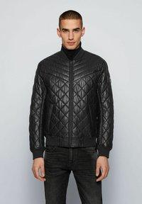 BOSS - JECEY - Leather jacket - black - 0