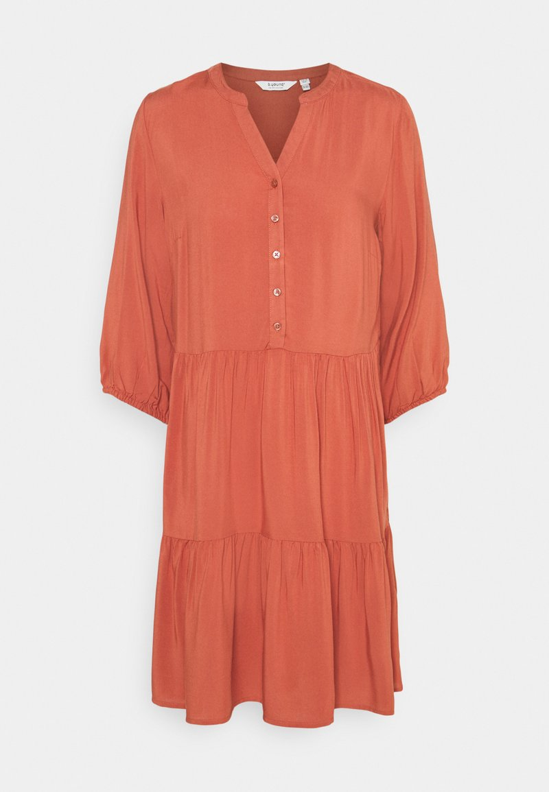 b.young - BYMMJOELLA DRESS - Vestito estivo - etruscan red