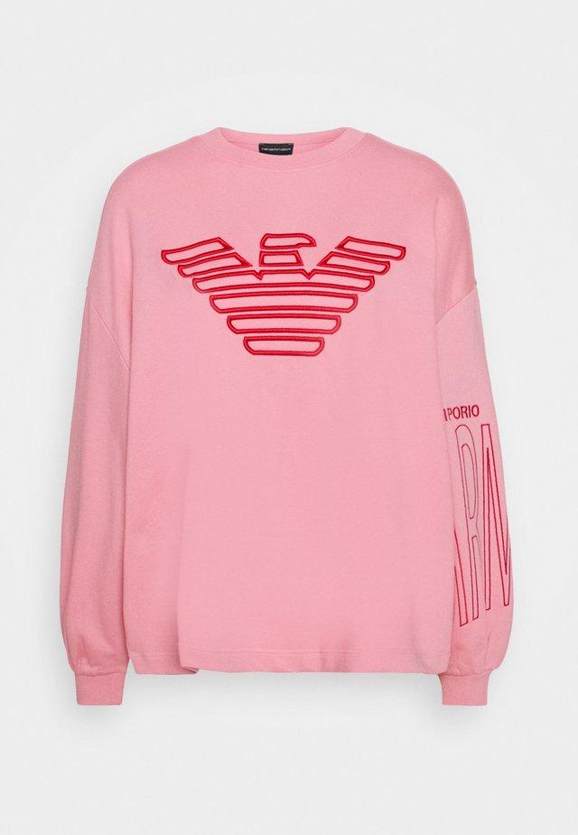 Sweatshirt - rosa fumetto