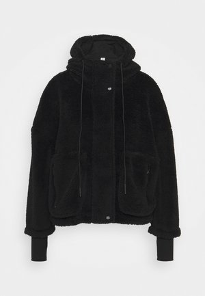 MONTALVO - Fleece jacket - black