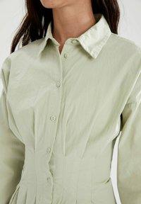 DeFacto - Shirt dress - turquoise - 4