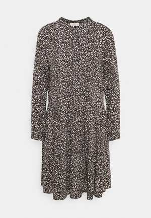 ADNEY FLOWER - Shirt dress - black mix