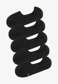 Next - 5 PACK - Trainer socks - black - 0