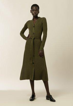 KALA - Jumper dress - macchia green