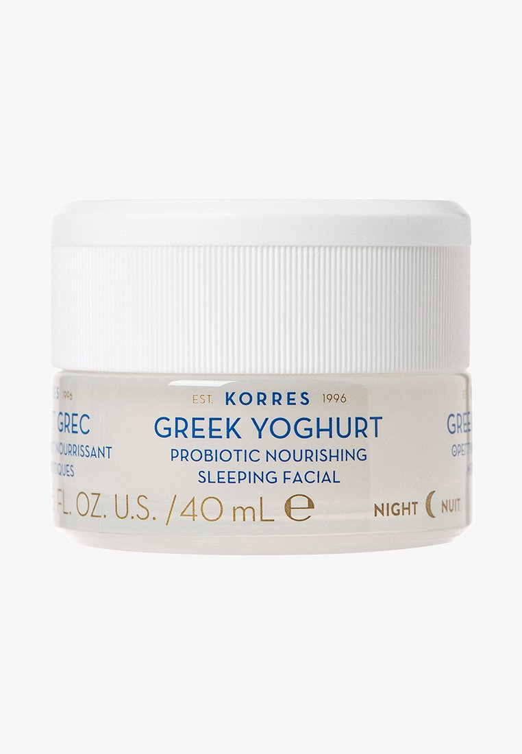 Korres - GREEK YOGHURT PROBIOTIC NOURISHING SLEEPING FACIAL - Night care - -