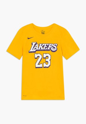 NBA LOS ANGELES LAKERS JAMES LEBRON CITY EDITION - Artykuły klubowe - amarillo