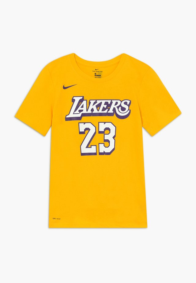 NBA LOS ANGELES LAKERS JAMES LEBRON CITY EDITION - Article de supporter - amarillo