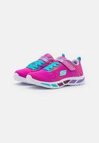 Skechers - LITEBEAMS - Sneakers laag - neon pink/multicolour - 1