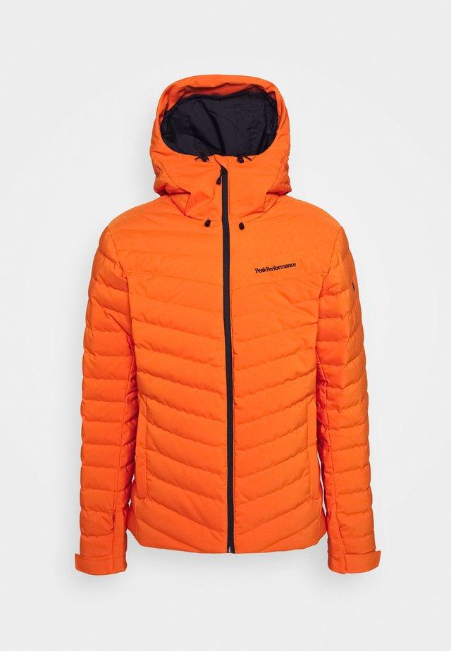FROST JACKET - Lyžařská bunda - orange altitude