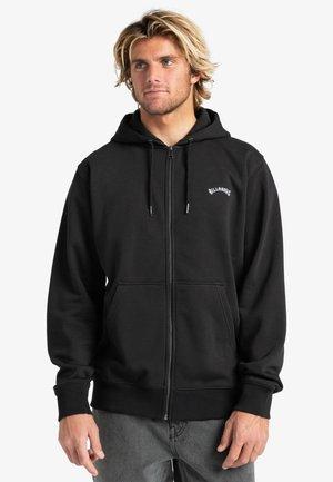 ORIGINAL  - Zip-up sweatshirt - black