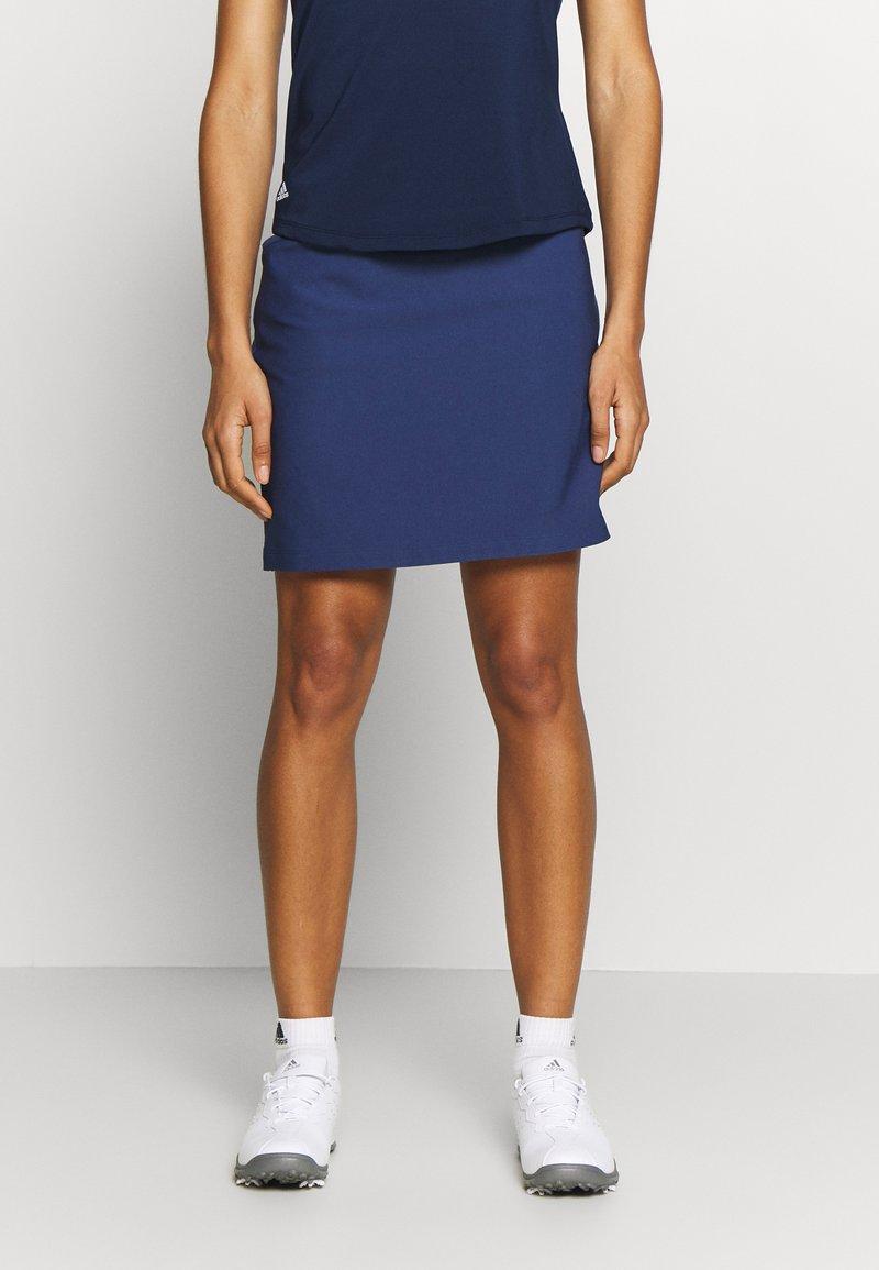adidas Golf - ULTIMATE ADISTAR SKORT - Spódnica sportowa - tech indigo