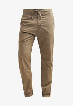 MARSHALL COLUMBIA - Trousers - leather rinsed