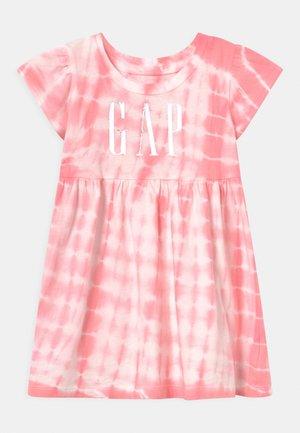 TODDLER GIRL LOGO DRESS - Jersey dress - pink