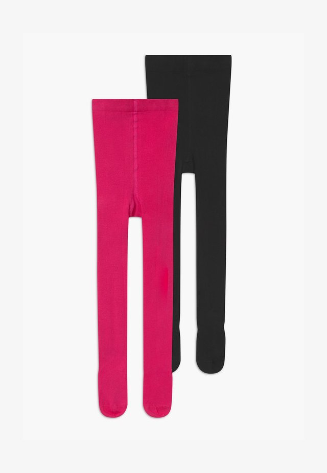 ONLINE JUNIOR BASIC UNISEX 2 PACK - Collants - bright rose