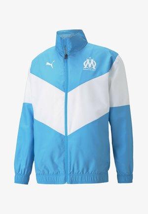Training jacket - bleu azur puma white