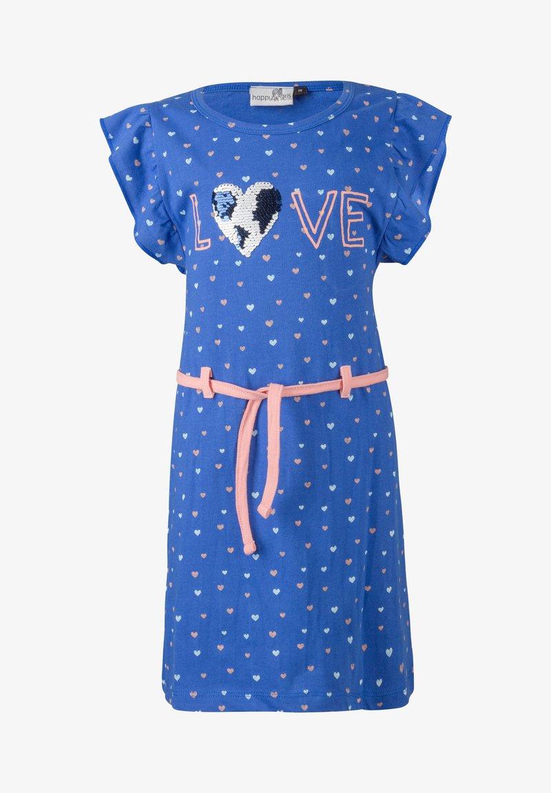 happy girls - Day dress - royalblau