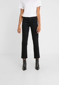 J Brand - ADELE MID RISE  - Straight leg jeans - vesper noir - 0