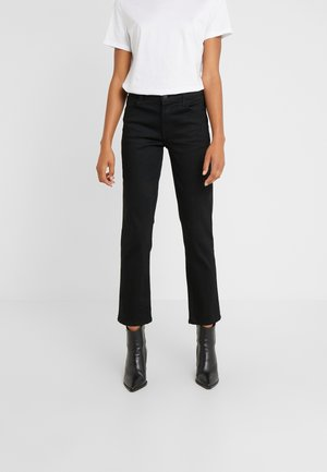 ADELE MID RISE  - Jeansy Straight Leg - vesper noir