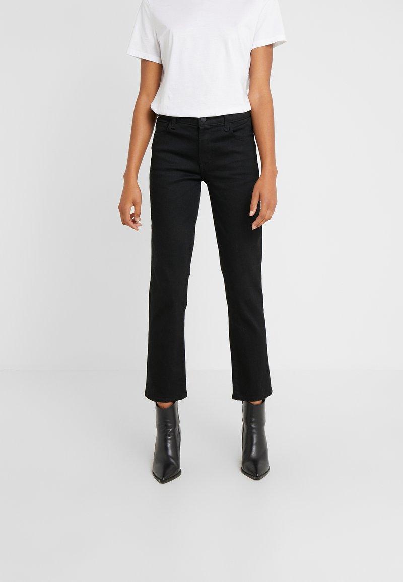 J Brand - ADELE MID RISE  - Straight leg jeans - vesper noir