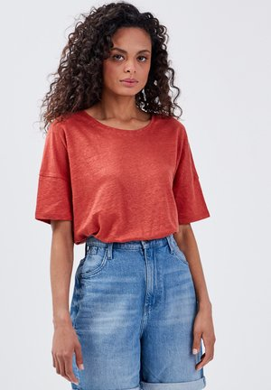 Basic T-shirt - orange foncé