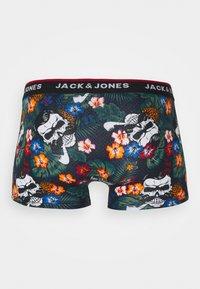 Jack & Jones - JACPRINTED TRUNKS 5 PACK - Pants - black/navy blazer - 10