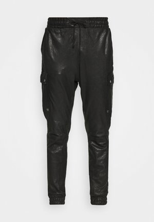 BEDAIN - Cargo trousers - black