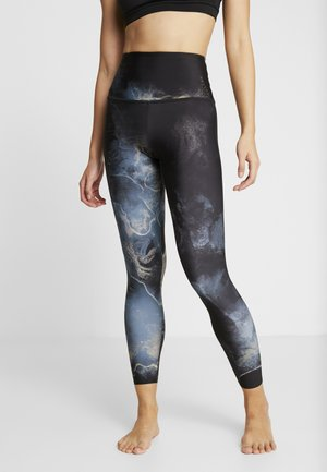 HIGH RISE GRAPHIC MIDI - Legginsy - element