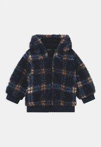 Name it - NBMMAZIE CHECK UNISEX - Winter jacket - dark sapphire - 0