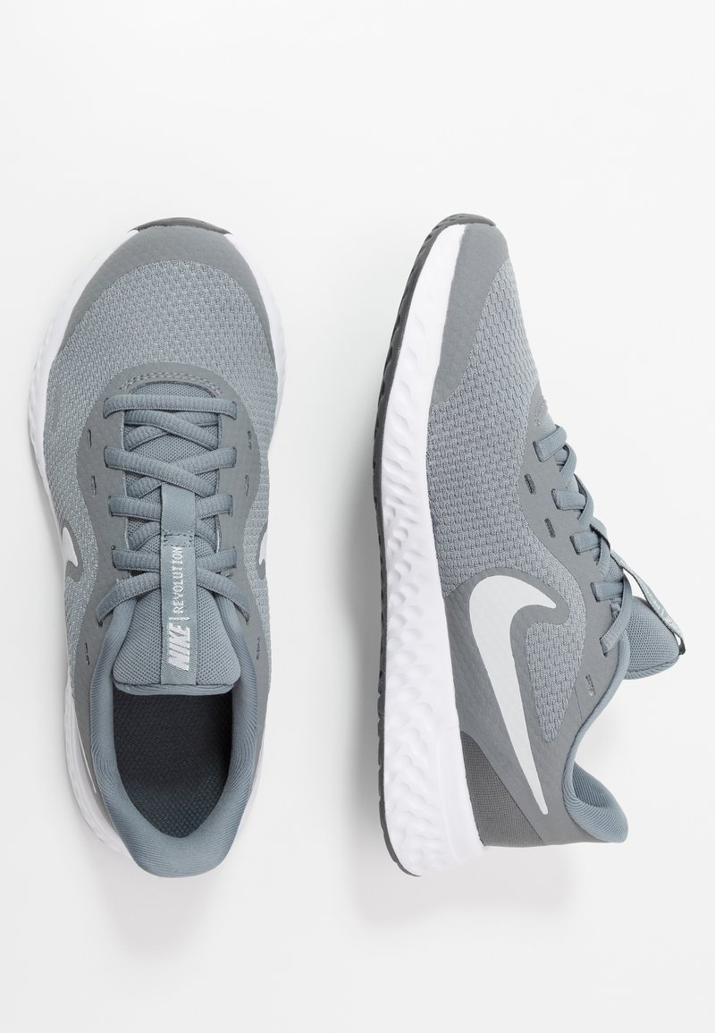 Nike Performance - REVOLUTION UNISEX - Neutral running shoes - cool grey/pure platinum/dark grey