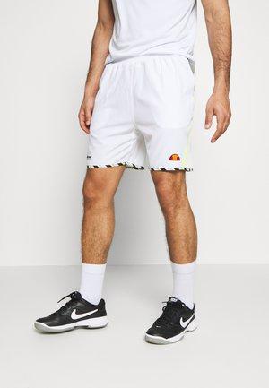 LONALTA - Sports shorts - white