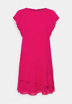 CYRENA CAP SLEEVE DAY DRESS - Day dress - aruba pink