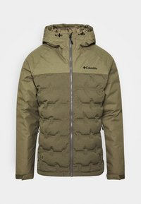 Columbia - GRAND TREK JACKET - Down jacket - stone green - 5