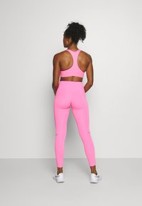 Nike Performance - SPEED 7/8 MATTE - Leggings - pink glow/gunsmoke - 2