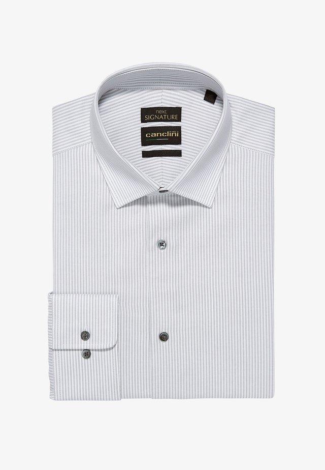SIGNATURE CANCLINI - Formal shirt - grey