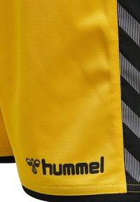Hummel - HMLAUTHENTIC  - Sports shorts - sports yellow/black - 3