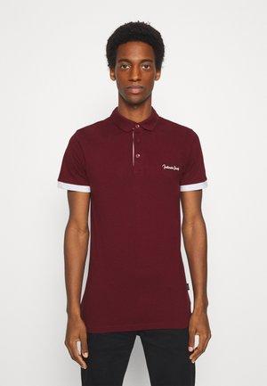 EARNEST - Polo shirt - bordeaux