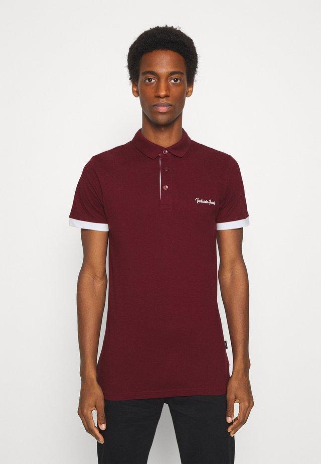 EARNEST - Poloshirt - bordeaux