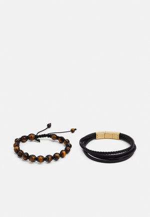SET - Pulsera - brown/gold-coloured