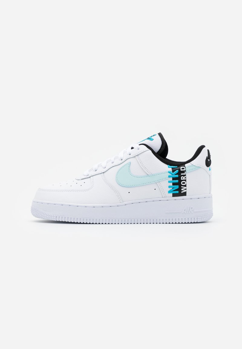 Nike Sportswear - AIR FORCE 1 '07 LV8 WW UNISEX - Trainers - white/blue fury/black