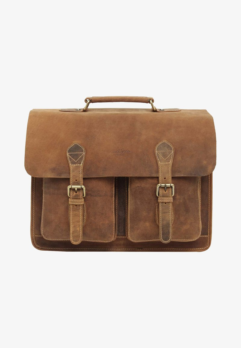Gusti Leder - Briefcase - brown