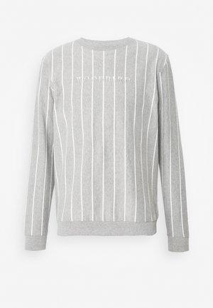 PLIN 2TONE CREW - Sweatshirts - grey