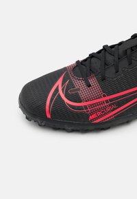 Nike Performance - MERCURIAL VAPOR 14 CLUB TF - Astro turf trainers - black/cyber - 5