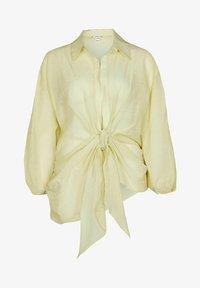 River Island - Button-down blouse - yellow - 4