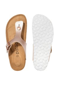 Palado - T-bar sandals - rose bronze - 2