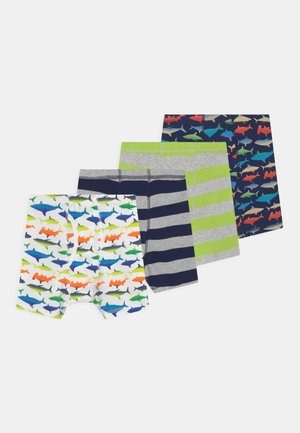 BOY SHARK 4 PACK - Pants - multi-coloured
