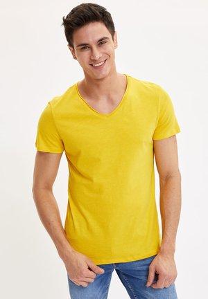T-shirt - bas - yellow