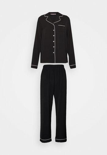 AMANDA LONG PJ SET - Pyjama - black