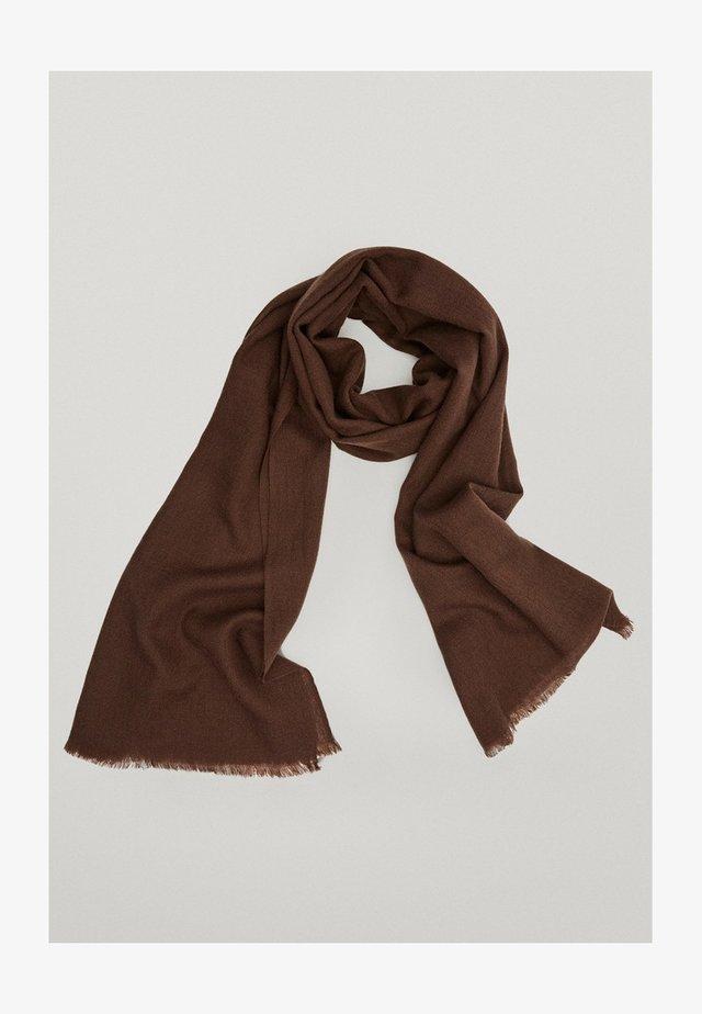 Scarf - brown